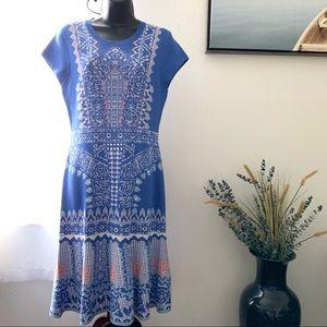 Antonio Melani light blue coral dress size M